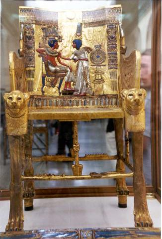 King Tut Throne