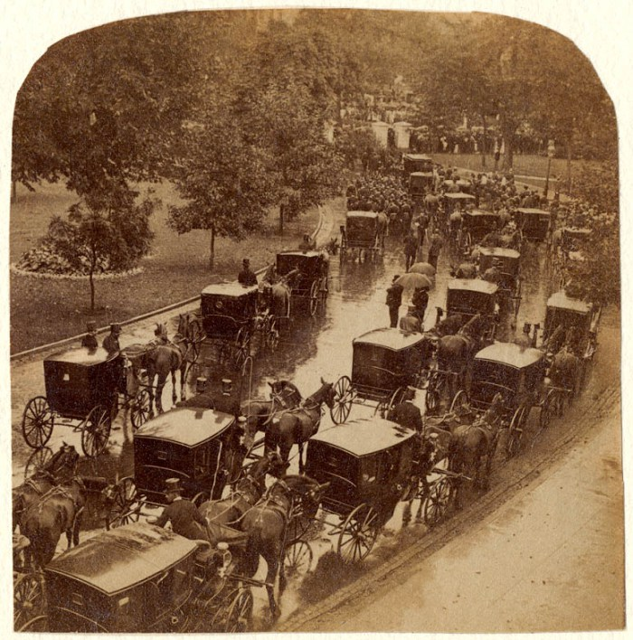 1901 Funeral Procession