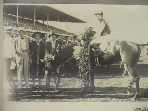 Seabiscuit Winner at Suffolk Downs in 1937
