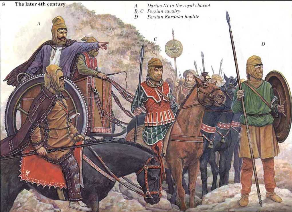Alexander the Great - GAUGAMELA AND THE END OF DARIUS Ancient Persian Army