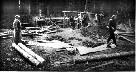 Four Brothers Mine - Temporary Graves of the Romanov Family Civil Wars Disasters Famous Historical Events Famous People Russian Studies Geography World History
