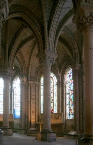 St. Denis - Ambulatory Window Geography Medieval Times Philosophy Visual Arts