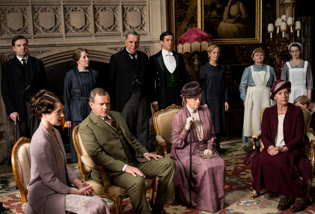 Downton Abbey Hears George V