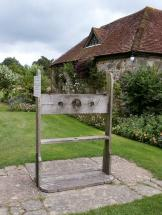 Pillory at Michelham Priory