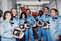 Challenger Crew - Lost on January 28, 1986