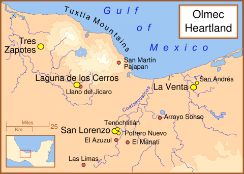 San Lorenzo - Map Locator Geography Social Studies World History