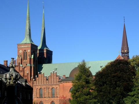 Roskilde Cathedral - Gothic Style Ancient Places and/or Civilizations Geography Medieval Times World History Philosophy