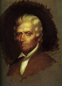 Daniel Boone (Illustration) American History Biographies Legends and Legendary People Famous People Geography Social Studies Trials American Revolution