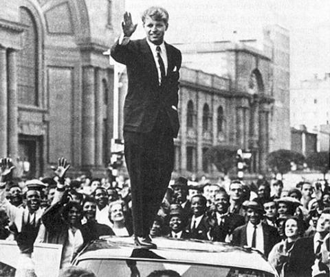 Bobby Kennedy in Johannesburg - 1966 Biographies Civil Rights Famous Historical Events Famous People Social Studies American History The Kennedys