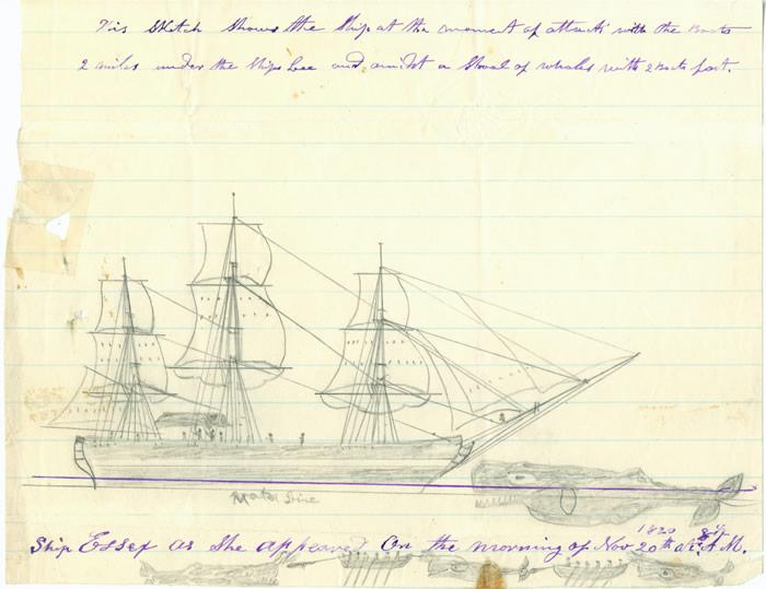 Thomas Nickerson's sketch