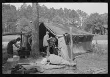 Great Depression - Living in Tents