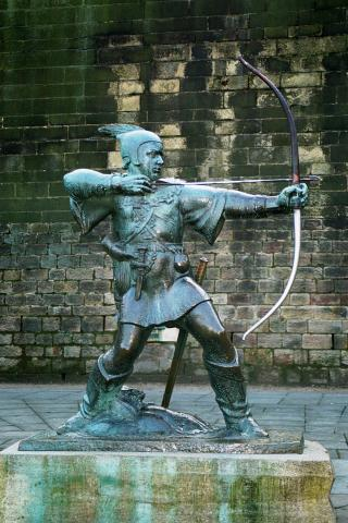 Robin Hood - Robin Longstride Famous People Law and Politics Medieval Times Social Studies World History Legends and Legendary People