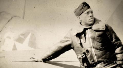 Captain John Rogers, Sr. - Best Dive Bomber (Illustration) Famous People World War II African American History Civil Rights