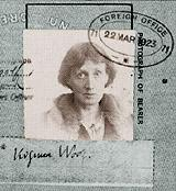 Virginia Woolf - Foreign Office Photo Government Famous People