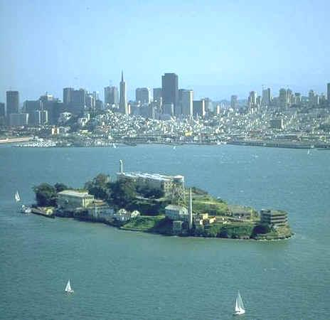 The Rock: Alcatraz Island and Prison (Illustration) American History Crimes and Criminals Geography