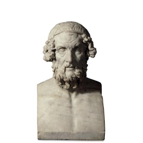 Homer - Ancient Poet Fiction Poetry World History Ancient Places and/or Civilizations Visual Arts