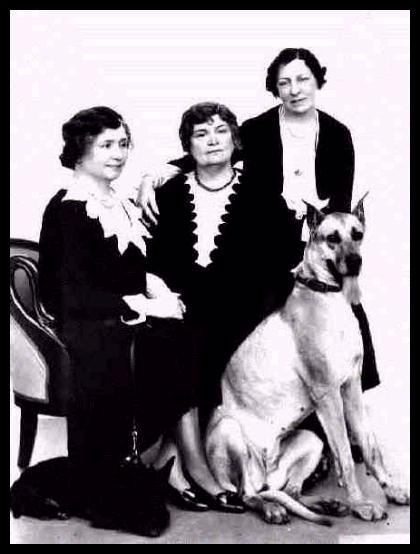 Helen Keller - With Anne Sullivan and Polly Thomson