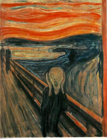 Edvard Munch - The Scream (Illustration) Visual Arts Famous People