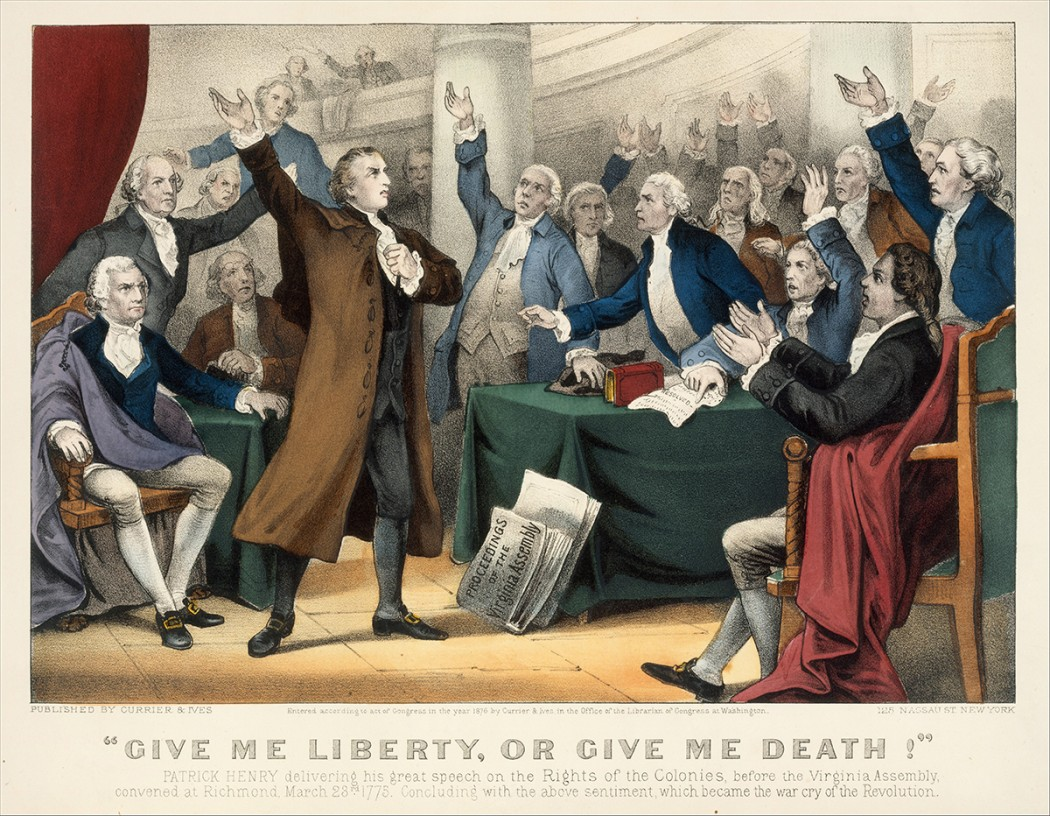 "patrick henrys speech Patrick henry's ""liberty or death"" speech the paragraph below tells about a famous speech given on march 23, 1775 can you find and mark ten errors in the."