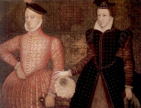 Portrait of Lord Darnley and Mary, Queen of Scots Legends and Legendary People Social Studies Visual Arts World History Tragedies and Triumphs