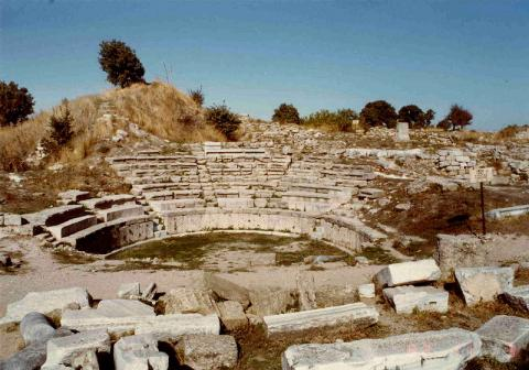 Ruins of Troy - Amphitheater Geography History Legends and Legendary People Ancient Places and/or Civilizations