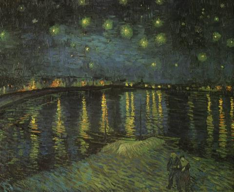 van Gogh Masterpiece - Starry Night over the Rhone Biographies Social Studies Visual Arts Nineteenth Century Life Tragedies and Triumphs