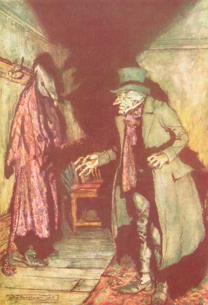 A Christmas Carol - SCROOGE and MARLEY