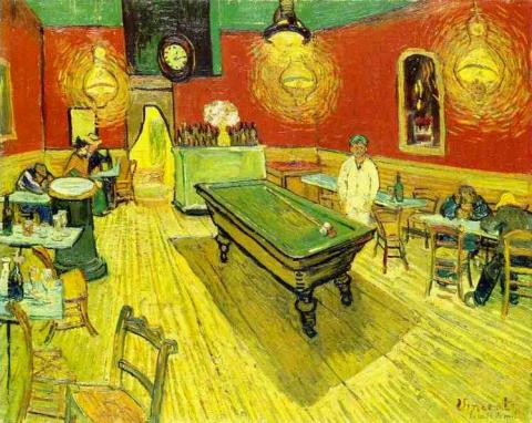 Night Cafe in the Place Lamartine in Arles Social Studies Tragedies and Triumphs Visual Arts Nineteenth Century Life