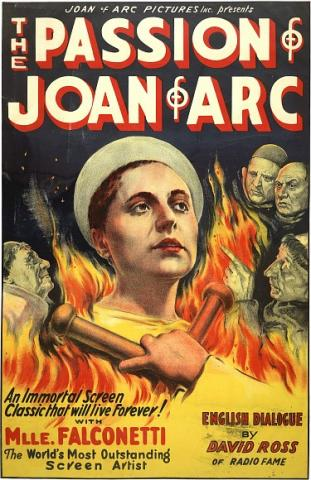 The Passion of Joan of Arc-Movie Poster