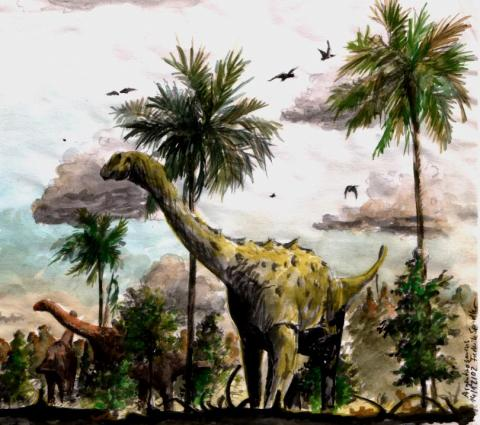 Argentinosaurus - Drawing Ancient Places and/or Civilizations Archeological Wonders Geography STEM Visual Arts