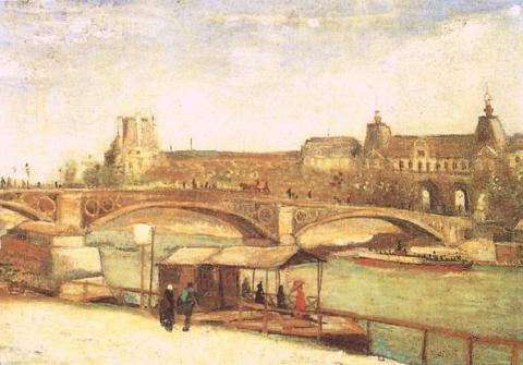 Pont du Carrousel and the Louvre Social Studies Tragedies and Triumphs Visual Arts Nineteenth Century Life Geography