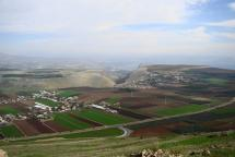 View of Battlefield from Horns of Hattin