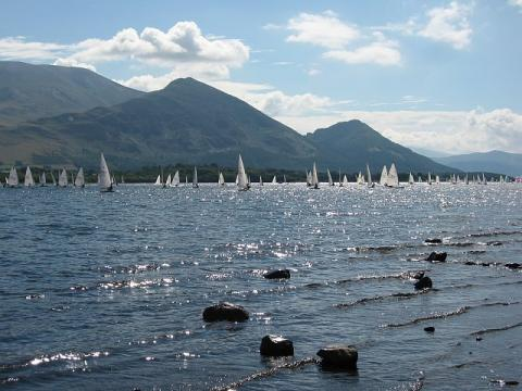 Bassenthwaite Lake - Sailboat Race Ethics Geography Tragedies and Triumphs Visual Arts