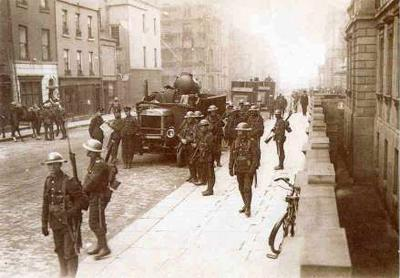 Easter Rising - Rebels Seize Dublin Buildings Famous Historical Events Social Studies Visual Arts World History Tragedies and Triumphs