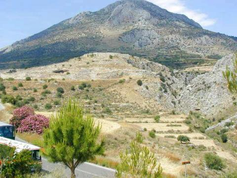 Mycenae - As it Appears Today History Legends and Legendary People Social Studies Geography
