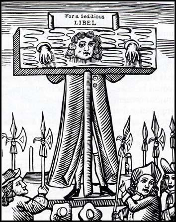 Pillory - Titus Oates - Hands Restrained American History Visual Arts Government Social Studies