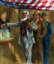 The First Vote - African-Americans after the Civil War