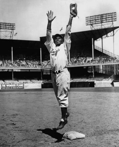 Jackie Robinson - Dodger's First Baseman Tragedies and Triumphs American History African American History Famous People Social Studies Sports