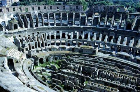The Labyrinth Passageways of the Colosseum Tragedies and Triumphs Ancient Places and/or Civilizations Geography Legends and Legendary People