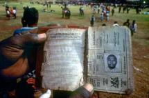 Apartheid-Era Passbook
