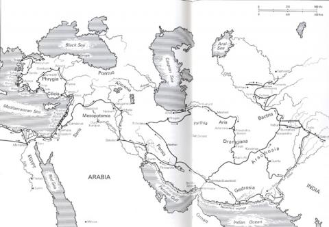 Gedrosia - Map Locator Ancient Places and/or Civilizations World History Geography