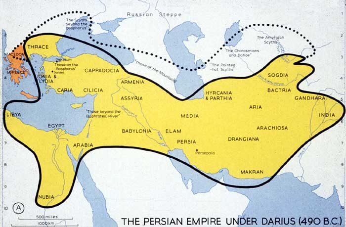 Persian Empire Under Darius