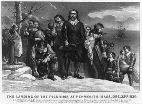 Pilgrims at Plymouth Rock - An Interpretation American History Biographies Famous Historical Events Famous People Social Studies Tragedies and Triumphs
