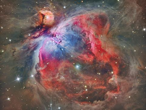 Orion Nebula - M42 Astronomy Aviation & Space Exploration STEM Visual Arts