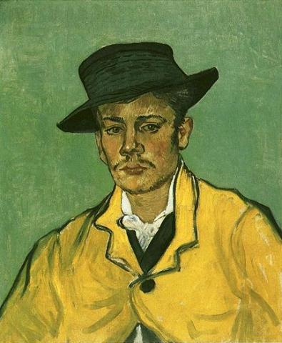 Armand Roulin - Portrait by van Gogh Social Studies Tragedies and Triumphs Visual Arts Nineteenth Century Life Famous People