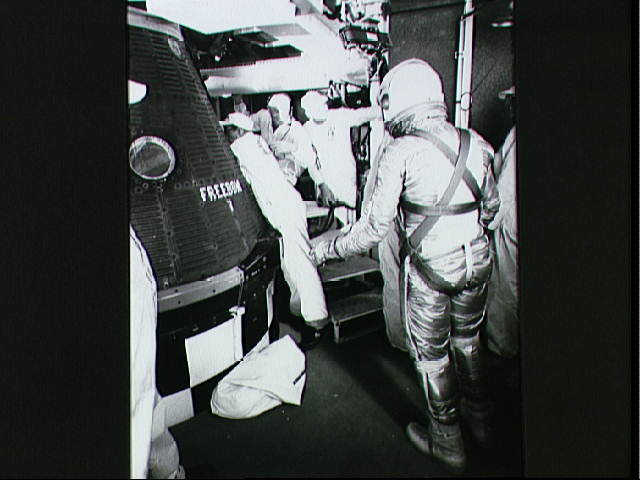 Freedom 7 - Piloted by Alan Shepard