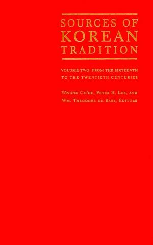 Sources of Korean Tradition - by Yongho Ch'oe Nonfiction Works Government History Social Studies