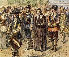 Mary Dyer:  A Colonial Execution (Illustration) American History Civil Rights Famous Historical Events Social Studies Censorship Geography History Biographies Philosophy