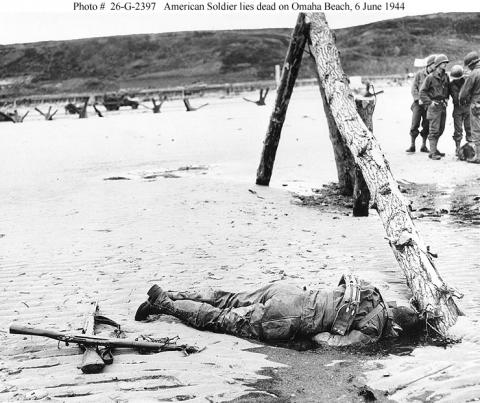 Omaha Beach - 6 June 1944 American History Famous Historical Events Social Studies World War II Tragedies and Triumphs