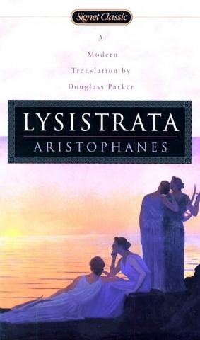 a review on aristophanes play lysistrata Click to read more about 3 plays: acharnians / clouds / lysistrata by aristophanes librarything is a cataloging and social networking site for booklovers.